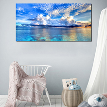 Sunset Could Lake Natural Landscape Wall Art Canvas Poster and Print Canvas Painting Decorative Picture Living Room Home Decor sleeping sexy model wall art canvas poster and print canvas painting decorative picture modern living room home decor framework