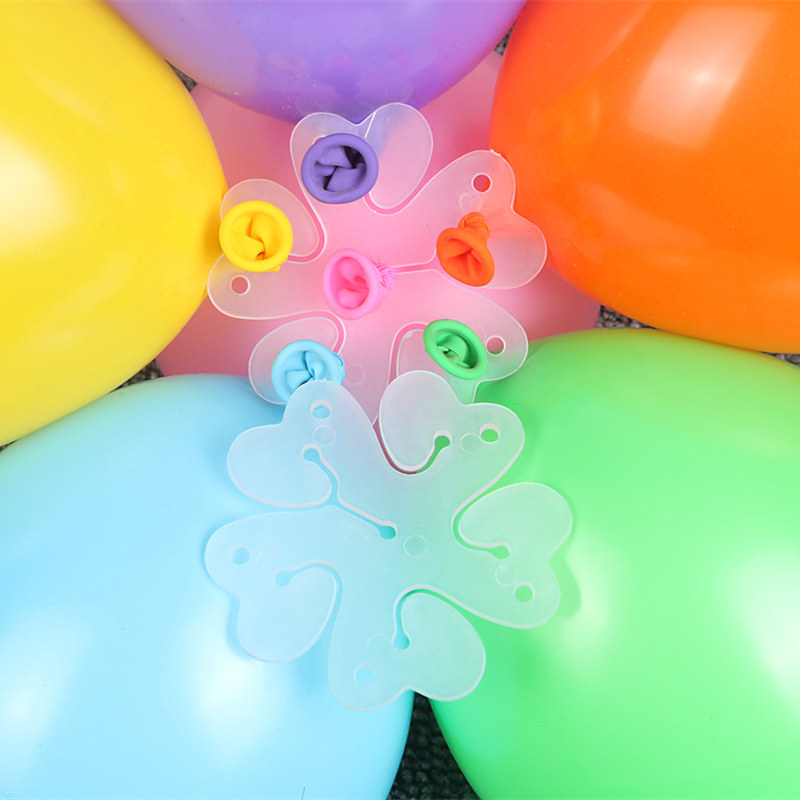 5pcs Cartoon Hat Accessory Balloons Clip Air Balloon Fixed Decorate Birthday Party For Kids Toys