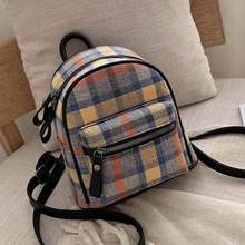 цена на Fashion Pathwork Women Backpacks Female Shoulder Bag Girl Daily Backpack Lattice School Folding Bag Travel School Bags Hologram