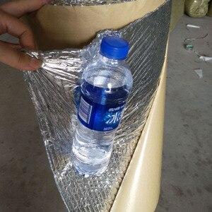 Image 2 - Selbst adhesive Aluminium Folie Blase Wärmedämmung Film Doppel Gesicht Isolierung Material für Dach und Sonne Zimmer 3sqm/lot