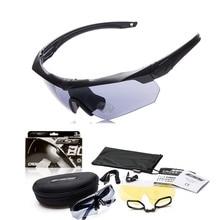 Polarizada TR90 militar goggles 3/5 Lens Ballistic Bullet proof Militar Do Exército Dos Homens Do Esporte óculos de Sol Óculos Óculos de tiro