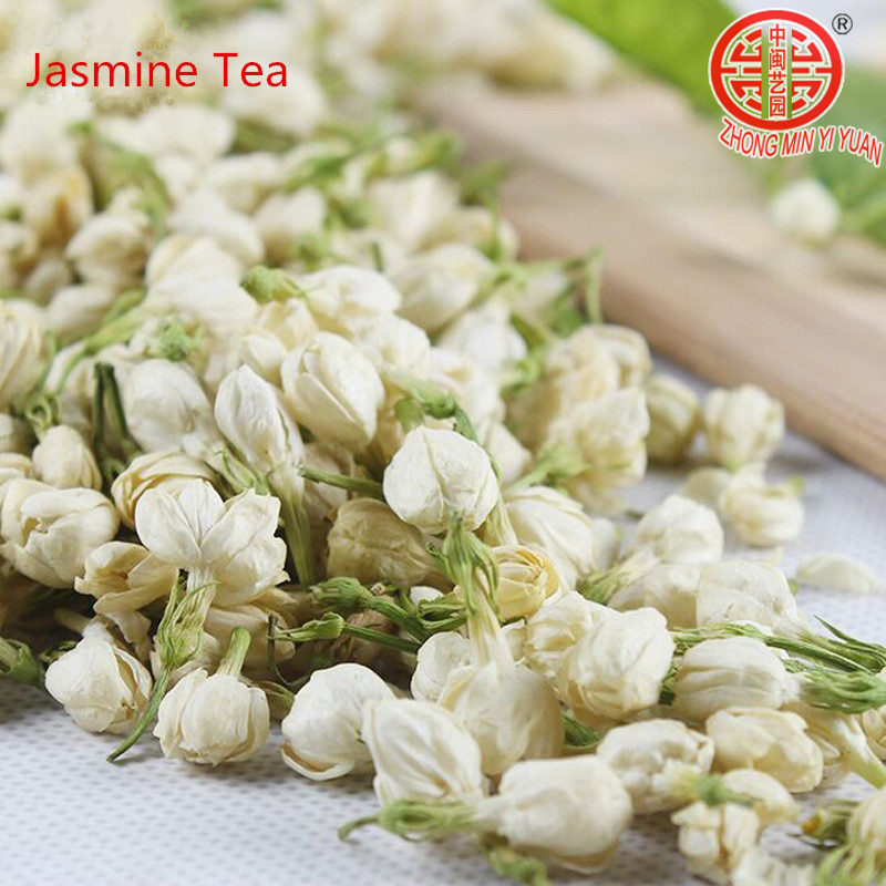 100g Fresh Jasmine Tea Natural Organic Premium Jasmine Green Tea Jasmine small Dragon Pearl Fragrance Flower Kung Fu Tea Food 1