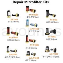 Микрофильтр для впрыска топлива,, высокое качество, топливный инжектор, фильтр с различным типом для автозапчастей