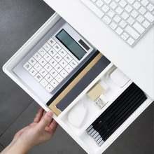 Самоклеящийся поднос для карандашей под столом ящик хранения