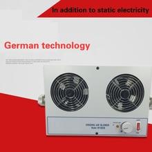 LED Display Static Eliminator KP1002B Double Head Desktop Ion Fan Has Ionization Indicator high quality simco anti static ion blower ion static eliminator fan