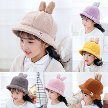 Winter Warm Baby Hat Cute Casual Solid Color Soft Eaves Kids Children Baseball Cap Baby Boy Girl Beret Caps Girls Sun Hats(China)