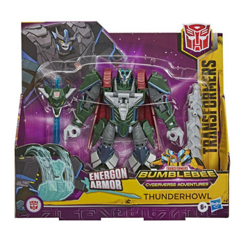 NEW Hasbro Transformers Bumblebee Cyberverse Adventures Ultra Thunderhowl 18cm Action & Toy Figures E7110 4