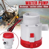 High pressure 3500GPH boat bilge pump 12v bilge pump dc 12v kayak rule water electric 3500 gph 12 volt accessories marine