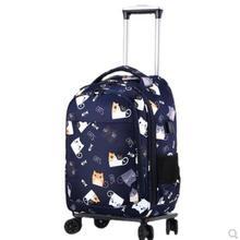 20 Inch women luggage Bags on wheels Travel trolley Bag Luggage wheeled bags Laptop Bag