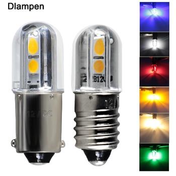 new super mini led bulb E10 BA9S T4W 6v 12v 24v 36v 48v 110v 220v Indicator lights Warning Light Signal energy saving lamp