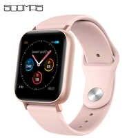 """SCOMAS Frauen Smart Uhr 38mm 1.3 """"Berührbaren Bildschirm Herz Rate Blutdruck Monitor IP67 Wasserdicht Für iOS Android smartwatch"""