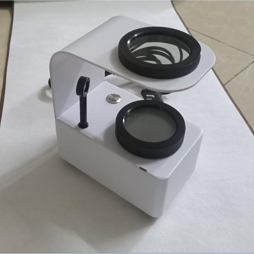 Polariscope Gem Axial Identification Instrument Portable Jewelry Polarizer Lens