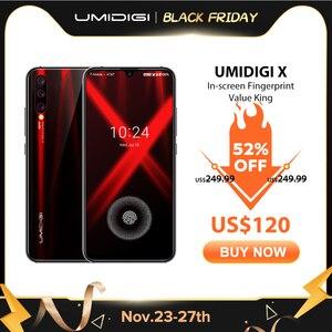 UMIDIGI X в отпечатков глобальная версия 6,35