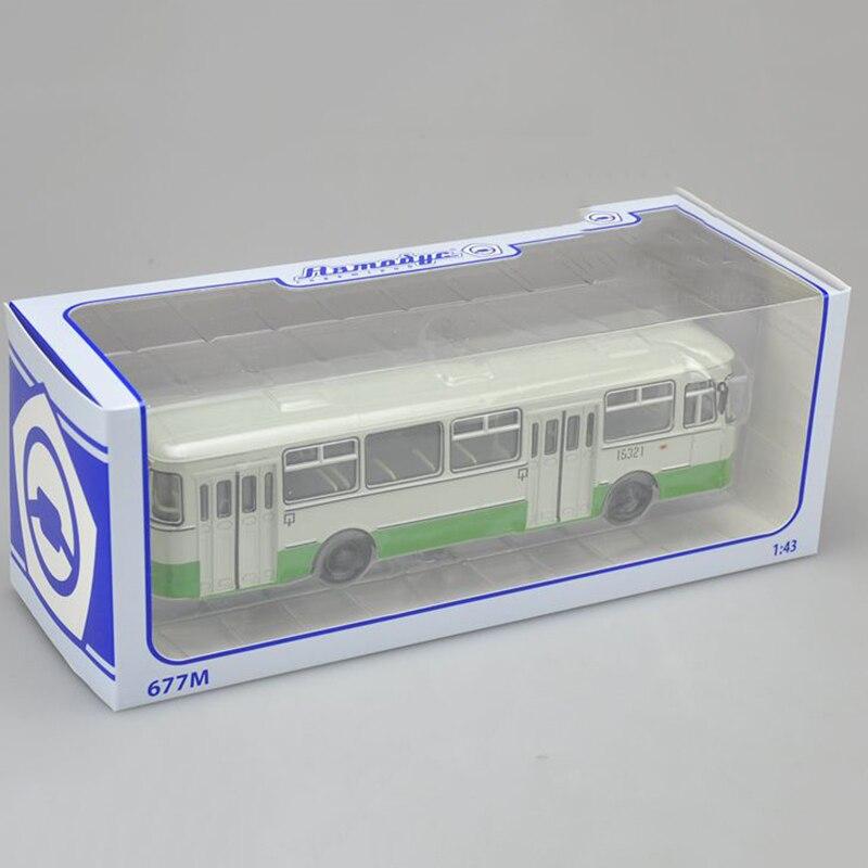 1/43 échelle Bus russe en alliage de métal Tram Bus modèle moulé sous pression voiture enfant modèle jouet enfants véhicule trafic outils Collection de cadeaux - 6