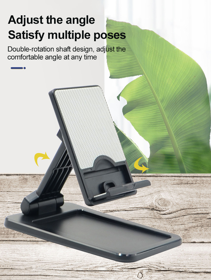 Folding Phone Holder Desk Stand Mobile Phone Holder Cellphone Stand Universal For IPhone Samsung Huawei Xiaomi