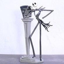 חדש הסיוט לפני חג המולד איור שקע כיסא מיוחד 25 שנים שקע Skellington דמות PVC פעולה דמויות חג המולד מתנה