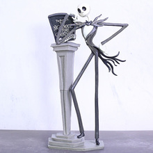 NEW The Nightmare Before Christmas Figure Jack Chair Special 25 years Jack Skellington Figure PVC Action Figures Christmas Gift