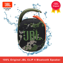 JBL Clip 4 Wireless Bluetooth 5.1 Mini Speakers Clip4 Portable IPX67 Waterproof Outdoor Bass Speakers with Hook 10 Hours Battery