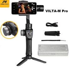 재고 Vilta M Pro 3 축 짐벌 스마트 폰 안정기 화웨이 P30 프로 아이폰 X XS 삼성 Gopro 5/6/7