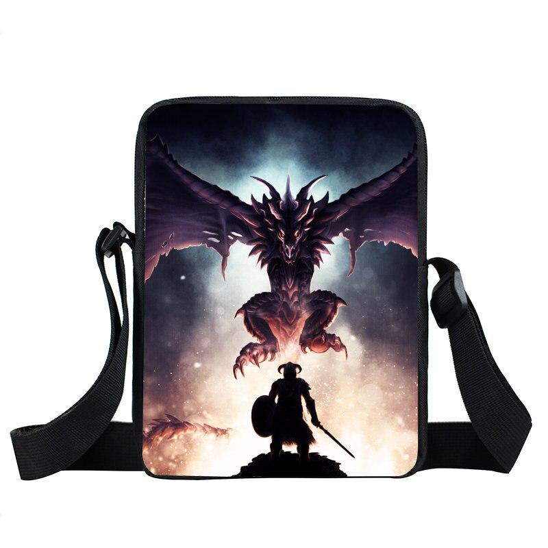 Dragonborn Mini Messenger Bag