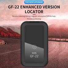 GPS Tracker Realtime Tracking Gerät Mini Tragbare Persönliche GF22 GPS Locator für Autos Kinder Senioren Haustiere Anti-diebstahl Aufnahme