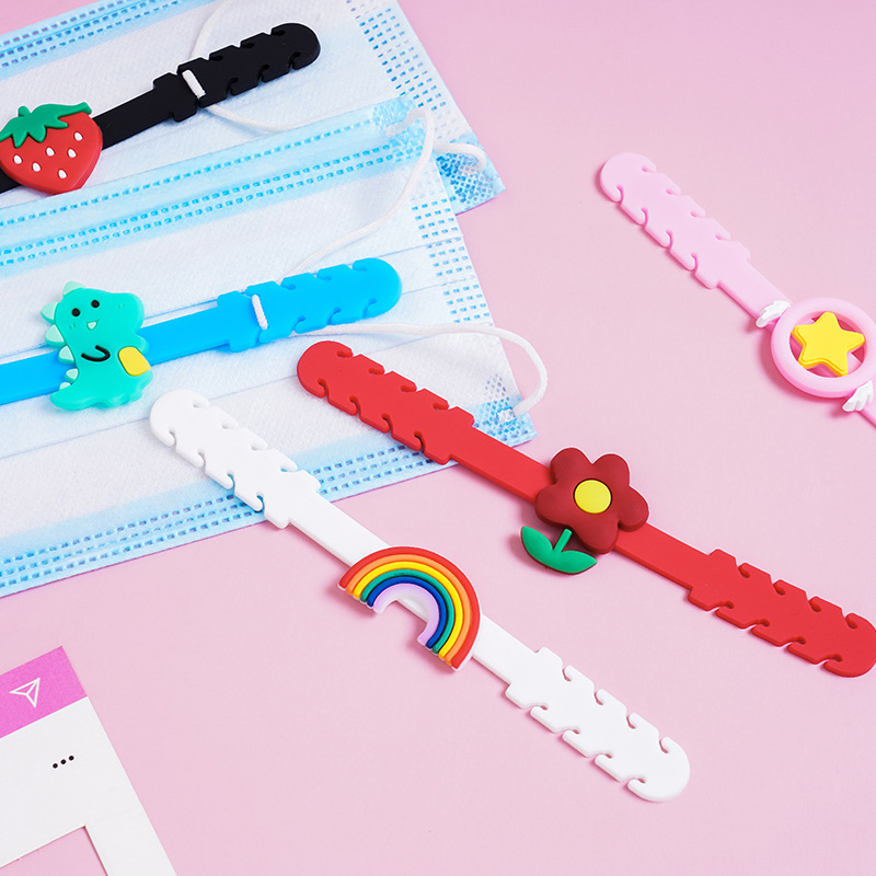 Mask-Accessories Syringe Kids Silicone Hook-Strap-Holder Extension-Buckle Ear-Ear Adult