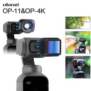 Image 1 - Ulanzi 1.33X Anamorphic Lens Voor Osmo Pocket Groothoek Lens Filmmaken Lens Magnetische Structuur Hd Gimbal Accessoires