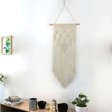 Ручная работа хлопок веревка ткачество украшения кисточки богемные