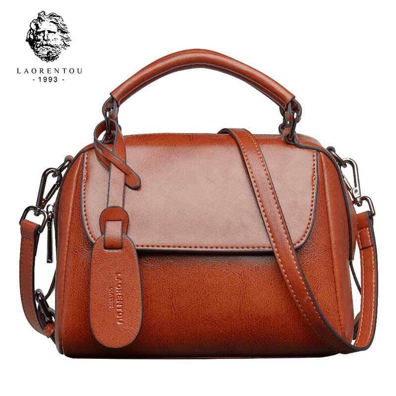 LAORENTOU Women Simply Crossbody Bag For Solid Color Shoulder Messenger Bag Lady Chain Travel Small Handbag Mother's Day Gift
