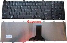 Laptop Teclado Inglês DOS EUA para o toshiba Satellite C650 C655 C660 C670 L675 L750 L755 L670 L650 L655 L670 L770 L775 L775D