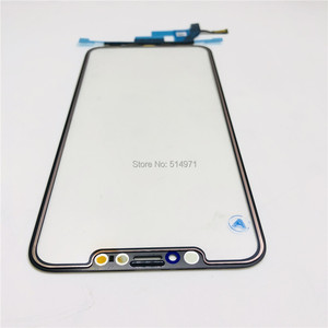 Image 5 - Novecel Original Quality LCD Display Touch Screen Front Outer Glass Panel with Flex Cable For iPhone X XS Max Replacement Parts