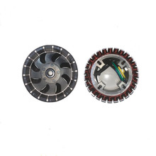 3000w5000w electric vehicle range extender gasoline generator accessories 48v60v72v range extender rotor stator 27-level pure co