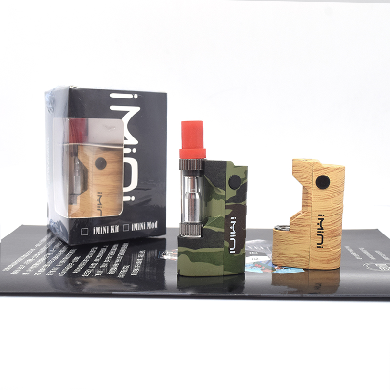 Imini V1 Thick Oil Cartridges Vaporizer  500mAh Battery Box Mod Fit CBD 510 Thread Battery Tank Wax Atomizer Vape Pen