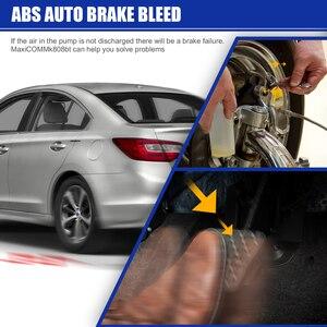 Image 5 - Herramienta de escaneo diagnóstico de coche, dispositivo con todos los sistemas y 21 servicios, IMMO, restablece el aceite, EPB, BMS, SAS, DPF, ABS, Autel MaxiCOM MK808BT