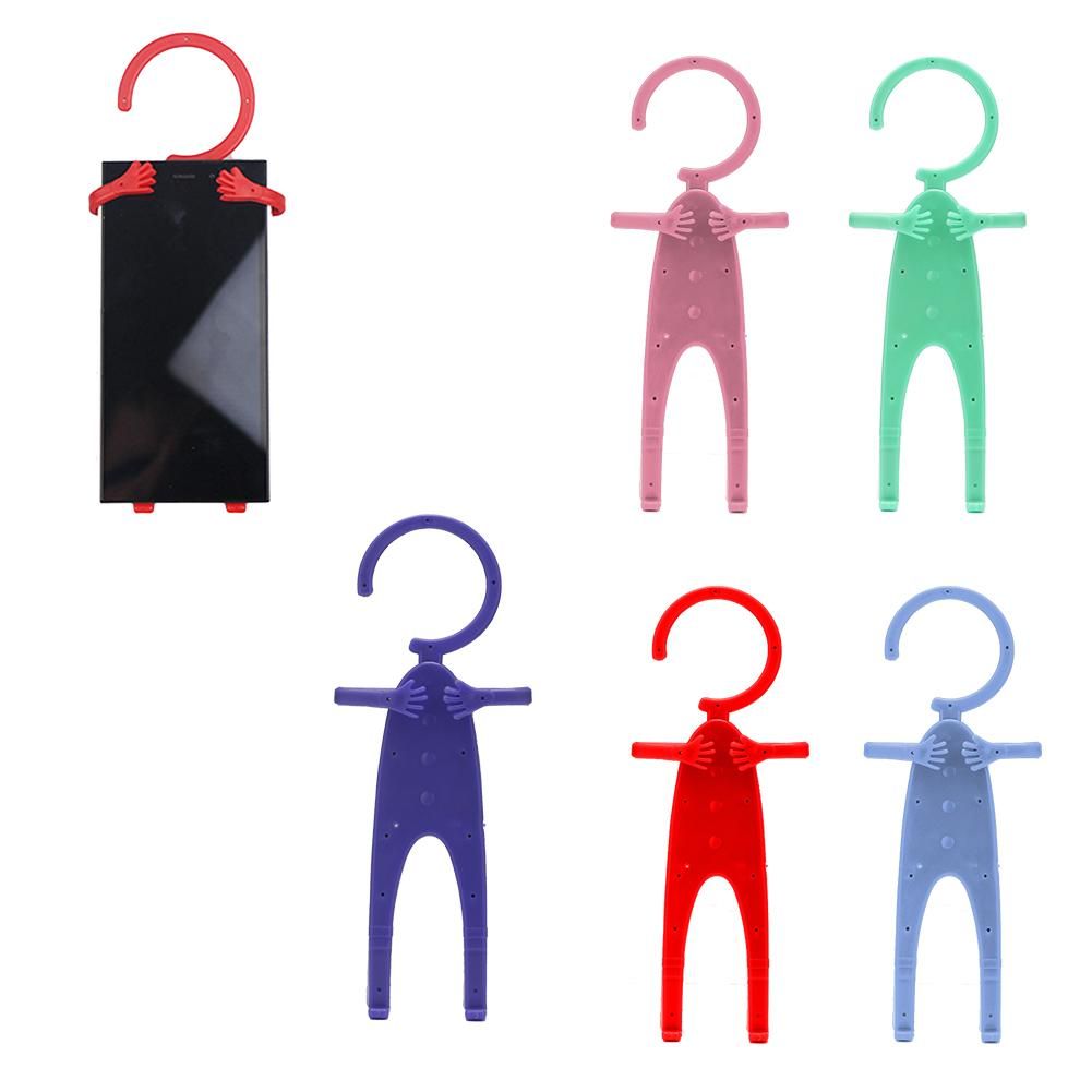 High Quality Mobile Phone Holder Folding Mobile Cell Phone Charge Holder Wall Charger Hanger Charging Rack Shelf