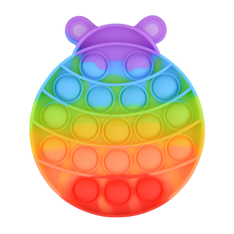 Toy Fidget-Toy Bubble-Stress Autism Rainbow Reliever Adult Kids Toy-It img3