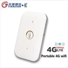 4g Wifi Router 150M Unlock Wireless Portable Outdoor Router Modem 3G/4G Sim Card Mobile Hotspot LTE FDD Network MIFI Booster