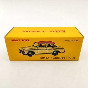 Image 5 - DeAgostini 1:43 Dinky toys 544 Simca Aronde P60 Red Diecast Modelli di Raccolta