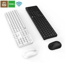الأصلي MIIIW RF 2.4GHz اللاسلكية مكتب لوحة المفاتيح الماوس مجموعة 104 مفاتيح ل شاومي ويندوز PC ماك متوافق المحمولة USB لوحة المفاتيح