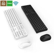 Original miiiw rf 2.4ghz sem fio escritório teclado mouse conjunto 104 teclas para xiaomi windows pc mac compatível portátil usb teclado