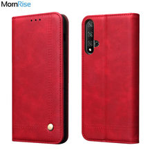 Vintage Leather Flip Cover For Huawei Honor 20 20S 20 pro / 20 lite Wallet Luxury Card Stand Magnet Book Cover Phone Case Fundas(China)