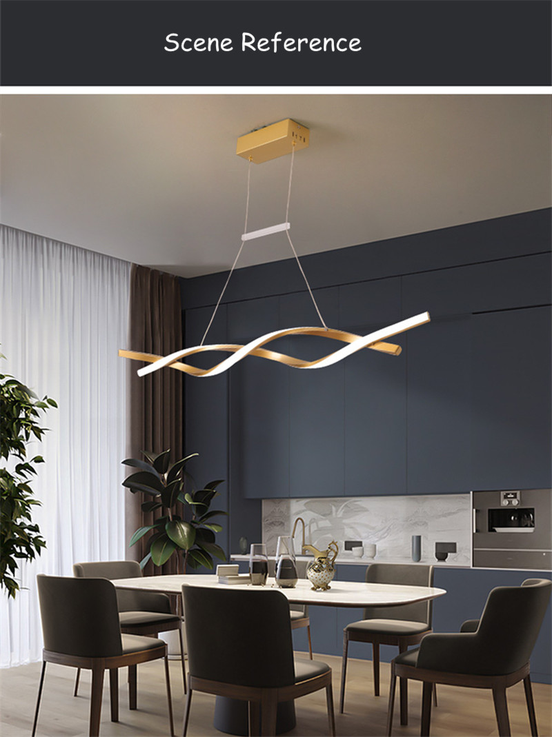 Modern LED Lights Chandeliers - Ceiling Light Fixtures for Dining Room