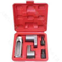 Sensor de oxígeno al vacío con sonda Lambda para coche, Kit de enchufe de extracción de 22mm, herramienta de bujía de Rattrapante, 5 unidades