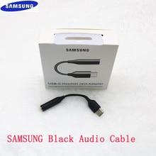 Para samsung tipo-c a 3.5mm aux fones de ouvido adaptador para samsung nota 10 mais a90 a80 a60 tipo c a 3.5 jack fone de ouvido cabo de áudio