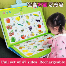 Children Point To Read Audio Books Audio Books Early Education Machine Children Learn Baby Educational Toys Point Reading