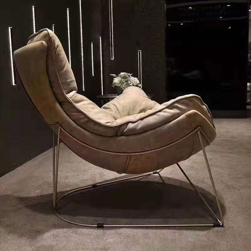 High Quality  Leisure Nordic BI-CAST Chair To Negotiate Reading Afternoon Tea Coffee Single Sofa Chair