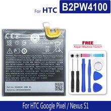 Bateria de 2770 mah para htc google pixel/nexo s1 b2pw4100 número de rastreamento da fonte