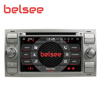 Belsee Android 9.0 PX5 Car Radio Stereo Autoradio GPS Unit for Focus S MAX C MAX Fiesta Galaxy Mondeo Fusion Kuga Transit
