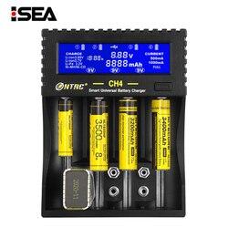 4 слота Батарея Зарядное устройство 18650 многофункциональная Li-Ion Li-fe Ni-CD смарт-Зарядное устройство для зарядное устройство для никель-кадмие...