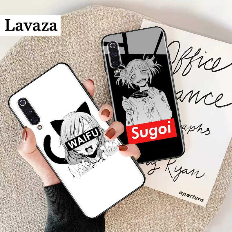 Sugoi Senpai Anime Waifu Kính Cường Lực Cho Xiaomi 8 Lite 9 F1 A1 A2 Redmi 4X 6A Note 5 6 7 Pro